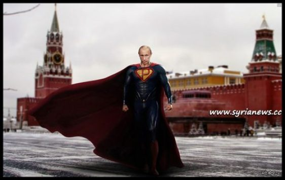 image-Putin Superman