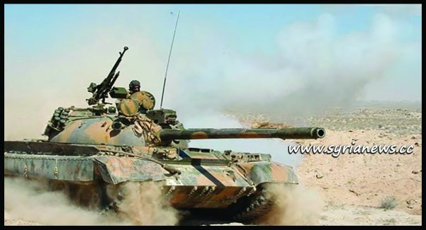 image-SAA Units Advance in Der Ezzor Western Countryside Chase ISIS Remnants