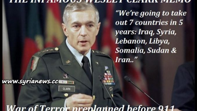 image-Wesley Clark 7 Countries to Take Out in 5 Years