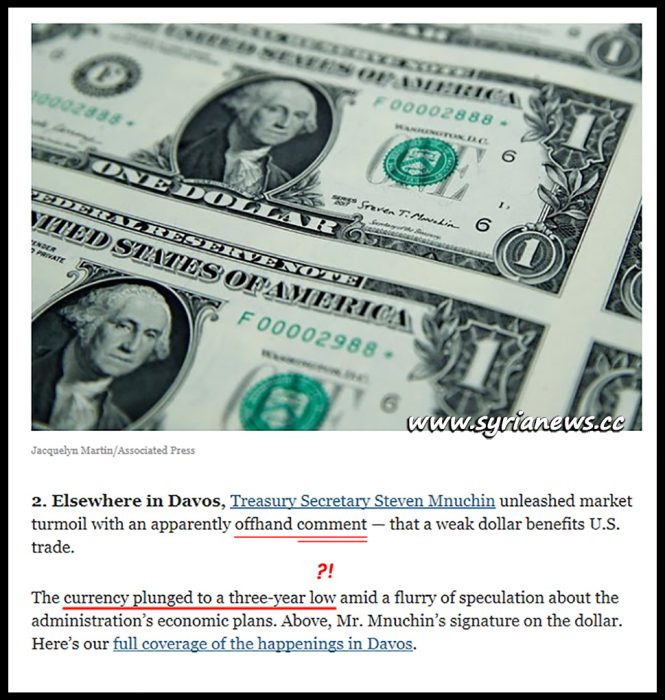 image-US Currency the Dollar is the most volatile currency ever