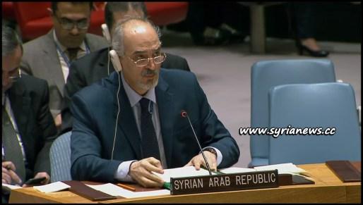 image-Syria Ambassador to UN Dr. Jaafari Closing Statement 24 Feb 2018