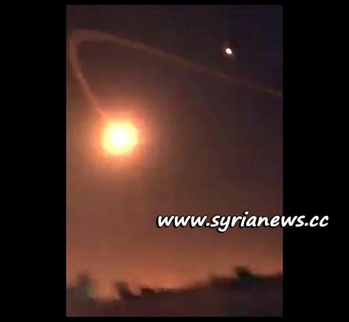 image-Screenshot from Footage of US Patriot Fails to Intercept Yemeni Missile over Riyadh, Saudi Arabia