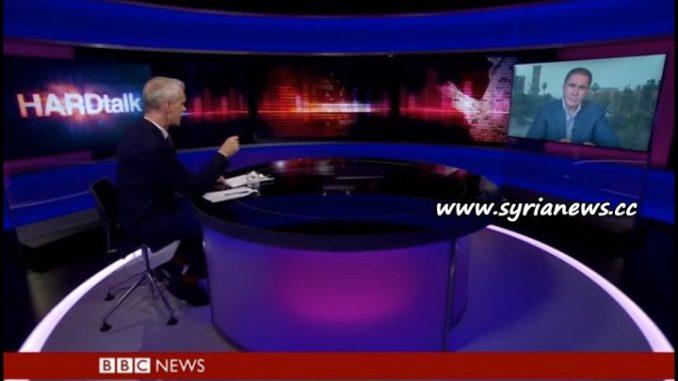 image-Syrian MP Fares Shehabi Shreds BBC Propaganda on Hard Talk