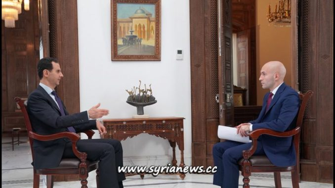 Syria President Dr. Bashar al-Assad Interview with RT