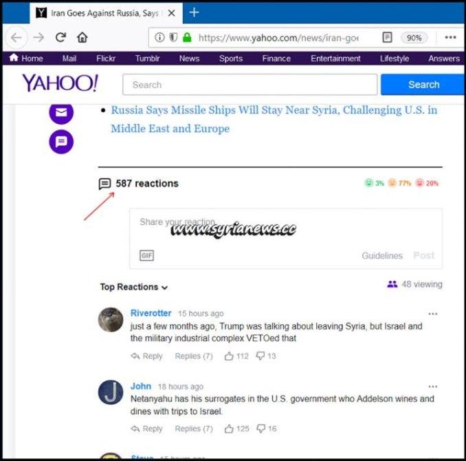 image-Reactions on Newsweek's Article on Yahoo News