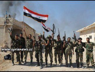 image-Syrian Arab Army SAA - damascus