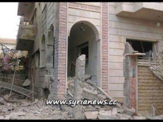 image-Daraa City FSA Nusra Front Shelling Residential Neighborhoods