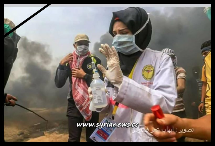 image-Interview with Nurse Martyr Razan Najjar Before IDF Terrorists Killed her in Gaza