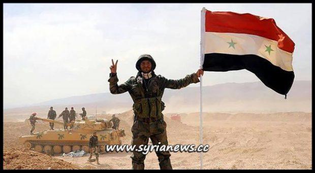 SAA Syrian Arab Army Victorious