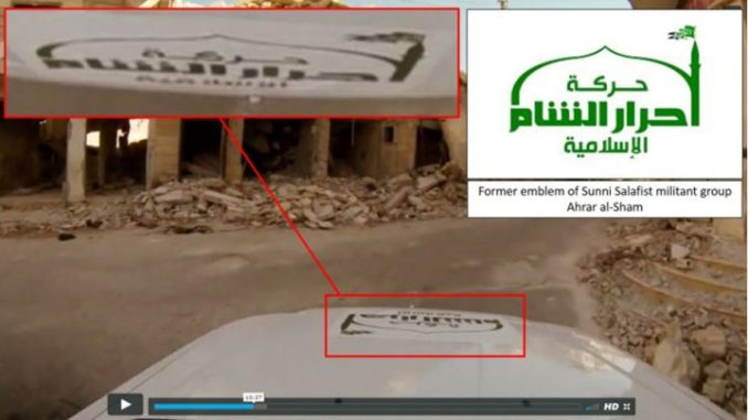BBC terrorists embedded with Ahrar al Sham terrorists while making video