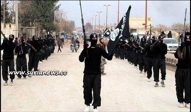ISIS Terrorists in East Syria - Der Ezzor - Hajin - Euphrates - SDF - Soussah - USA - Iraq - SAA