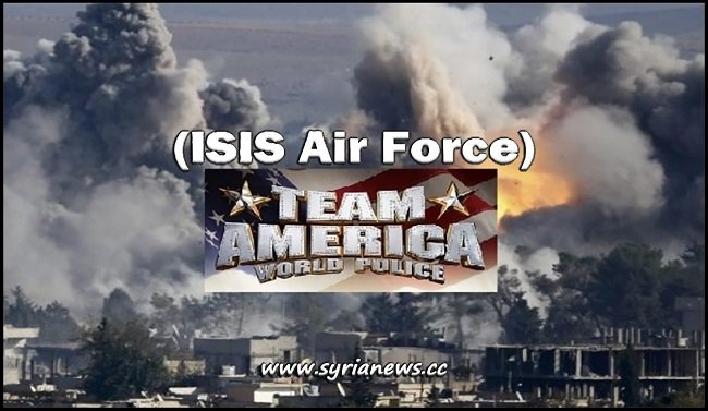 ISIS Air Force - Team America - Syria - Trump - Obama