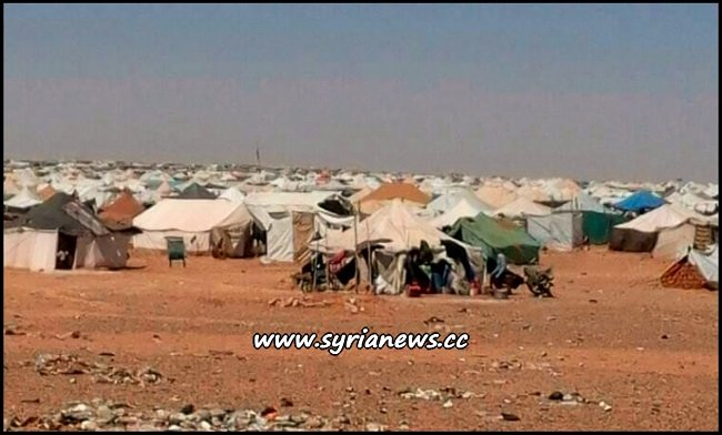 Rukban Concentration Camp for Syrian Displaced Refugees