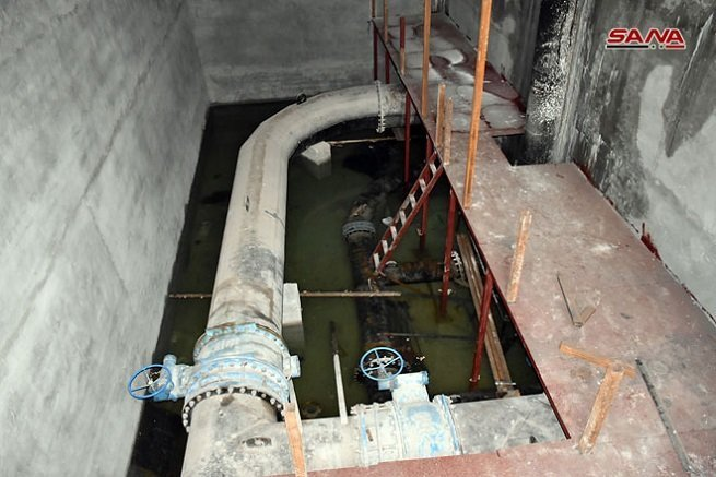 Hama Second Water Project - Great River