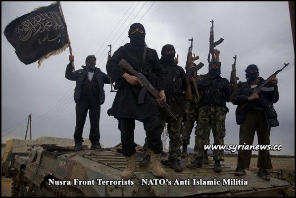 Nusra Front Terrorists - NATO anti-Islamic Militia - Syria إرهابيي جبهة النصرة - ميليشيا حلف الناتو المعادية للإسلام