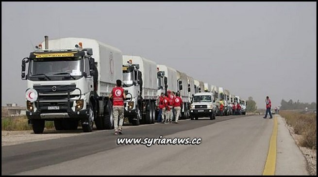 SARC Delivers Food Baskets in Daraa Countryside