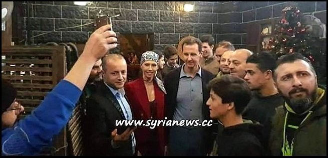 Syria President Bashar Al Assad with Family in Tartous
