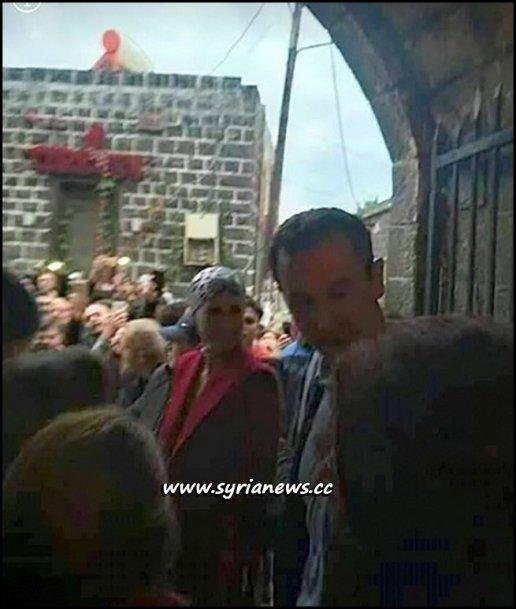 Syria President Bashar Al Assad with Family in Tartous