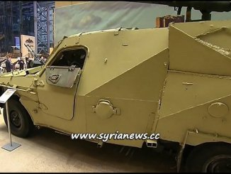 Terrorists Weapons on Display in Russian MoD Museum