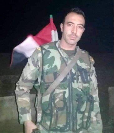 Lt. Mohammed Saloum starred down US invader savage
