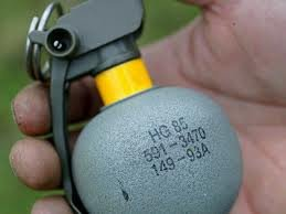 Swiitzerland Hand Grenade supplied to terrorists in Syria