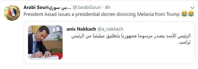 dr. assad signs divorce decree for melania