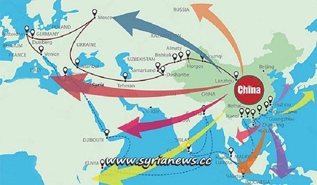China Belt and Road Initiative - Syria - Iraq - Iran - مشروع الحزام والطريق الصيني