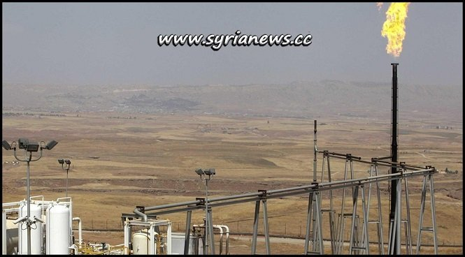 Oil and gas fields in Syria East of Euphrates under SDF USA control
