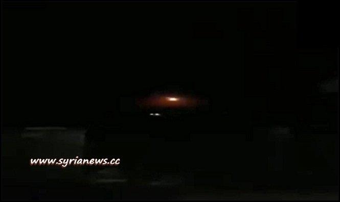 SAA Air Defense Respond to Israeli Air Bombing at Masyaf