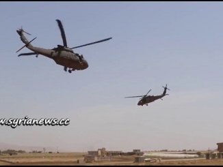 US Helicopters Deliver Food, Medicine, and Aid to ISIS Terrorist in Anbar, Iraq