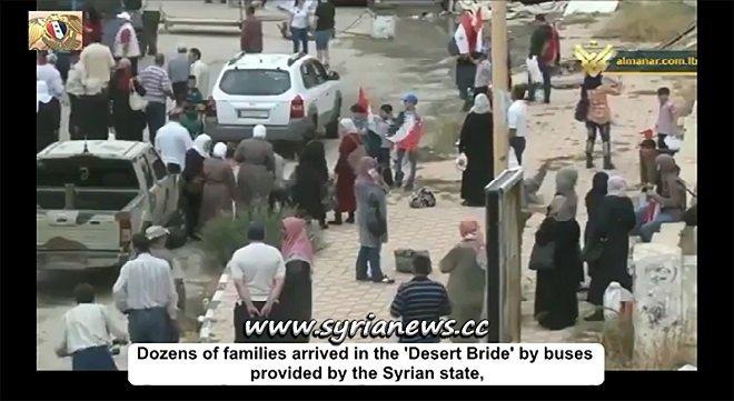 Dozens of families return to their homes in Tadmor Palmyra