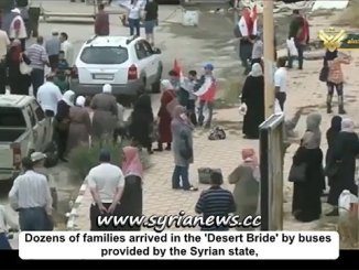 Dozens of families return to their homes in Tadmor Palmyra
