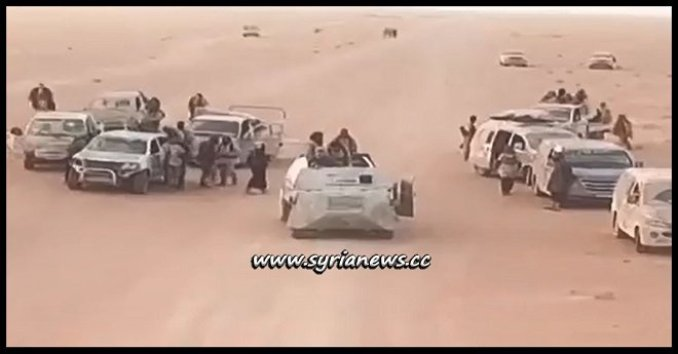 ISIS Remnants Regroup and Attack SAA Posts in Syrian Desert with the Help of the USA
