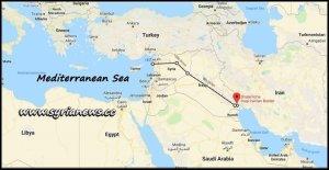 Iran - Iraq - Syria Railway