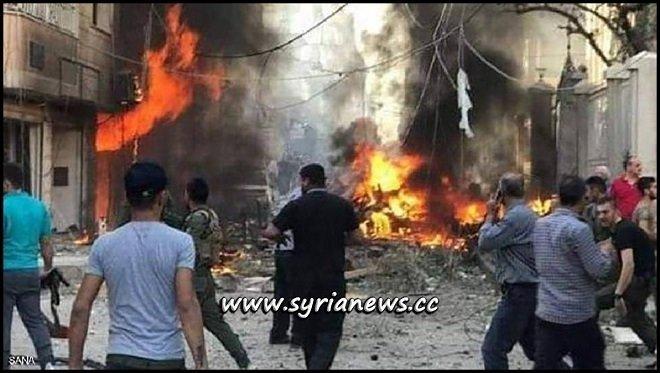 Syriac Qamishli Church Explosion - Syria