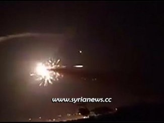 Israel bombs target near Syrian capital Damascus