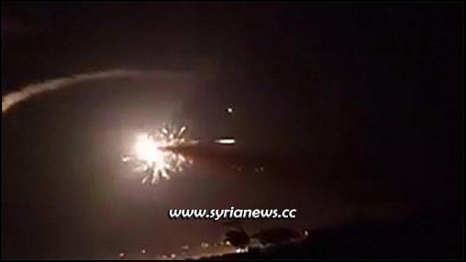 Israel bombs target near Syrian capital Damascus