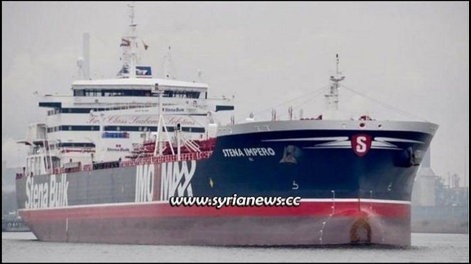 British Oil Tanker Seized by Iran