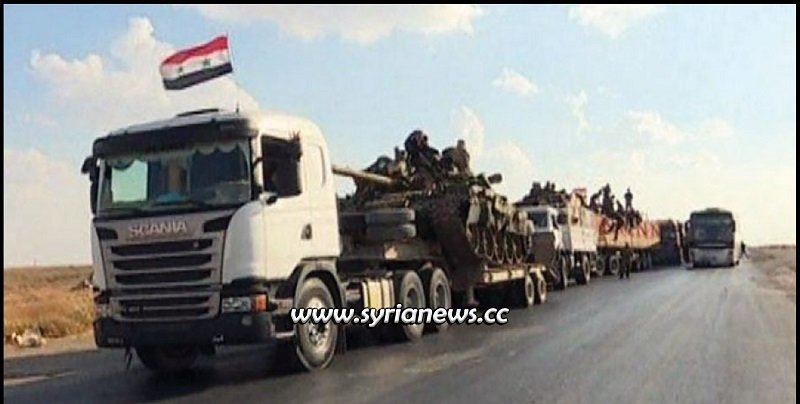 SAA Units March from Hasakah Countryside towards Raqqa