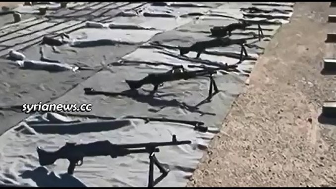 Israeli and Western weapons found in Damascus and Quneitra countrysides