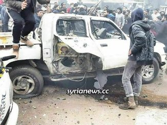 Syria Jarabulus car explosion Turkey terrorists in-fighting
