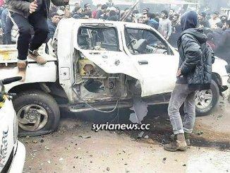 Syria Jarabulus car explosion Turkey terrorists in-fighting