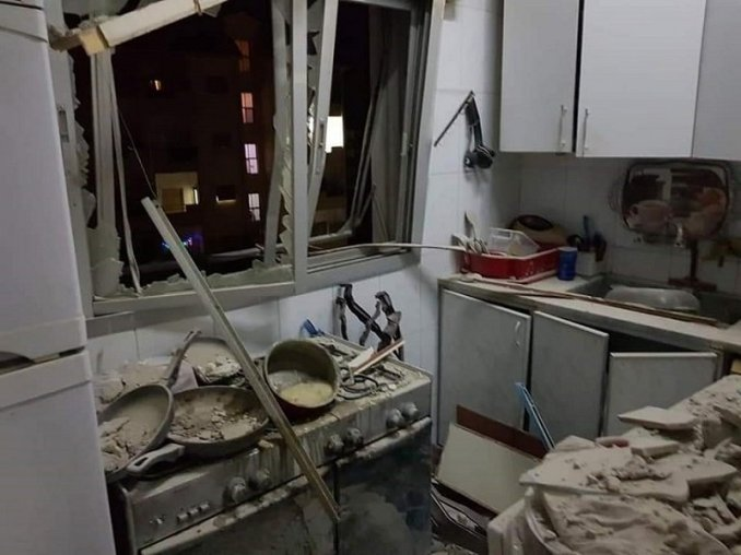 beit saber damascus countryside israel missile strike house killing civilians