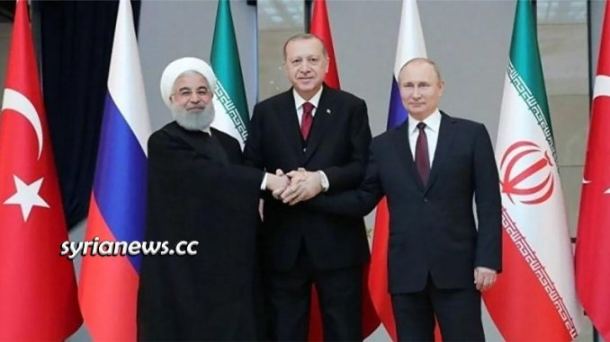 Erdogan Israelize Northern Syria - Putin - Rouhani