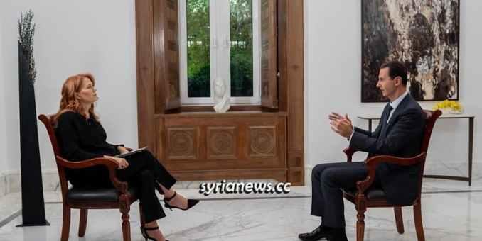 Rozhovor syrského prezidenta Bashara Assada s italskými Rai News 24 Media