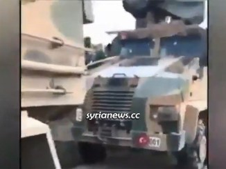 Turkish Army Column heading to aid al-Qaeda in Idlib hit by the SAA - dozens of Turkish soldiers killed