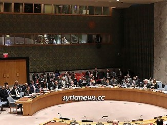 UNSC United Nation Security Council - Syria NATO USA UK France Russia China