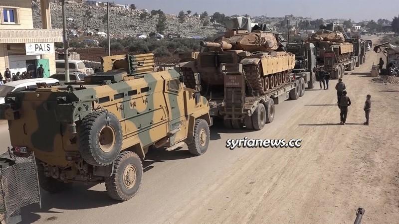 Turkey reinforce military inside Idlib - Syria despite coronavirus - File photo
