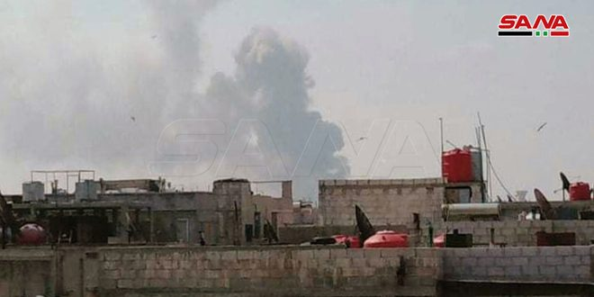 East of Homs Explosion 1 May 2020