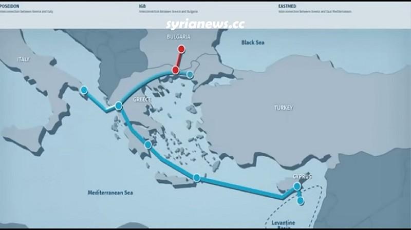 East Mediterranean Gas Pipeline to Europe